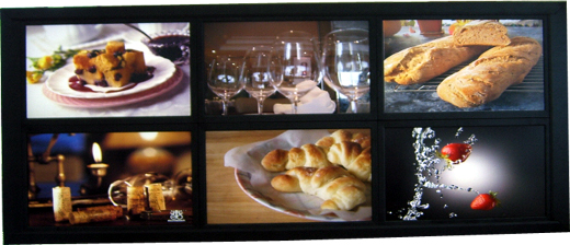 Video Wall Digital Signage LCD