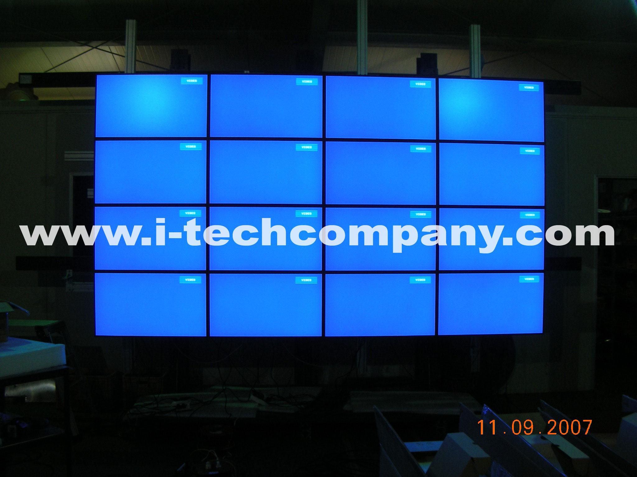 digital signage 40 quot 46 quot samsung did lcd artwall videowall led digital wall clock