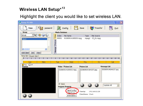 Wireless LAN Setup