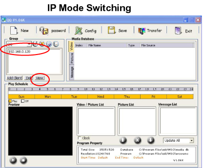 IP Mode Switching