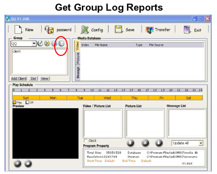 Group Log Reports