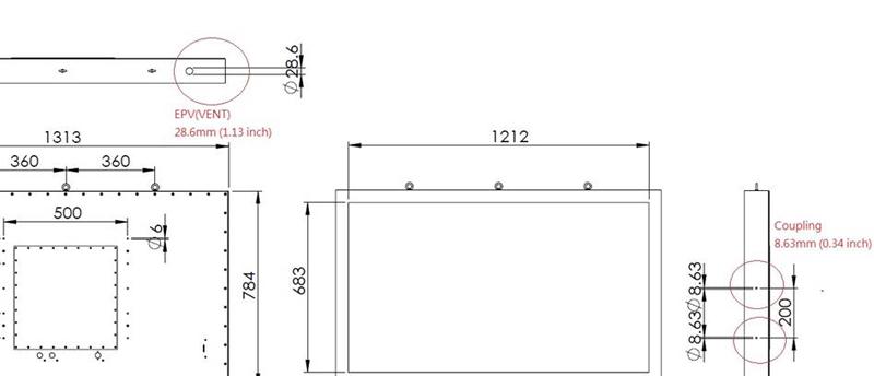 Nema4x Display Purge Amp Pressurization
