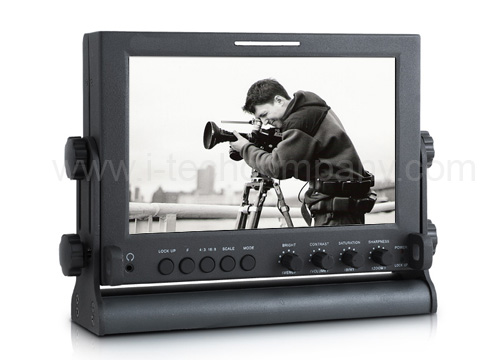 "7"" Director type On-Camera Portable LCD Monitor for ..."